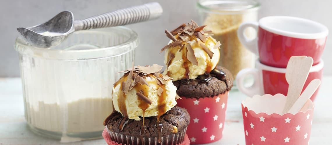Eiskaffee-Cupcakes