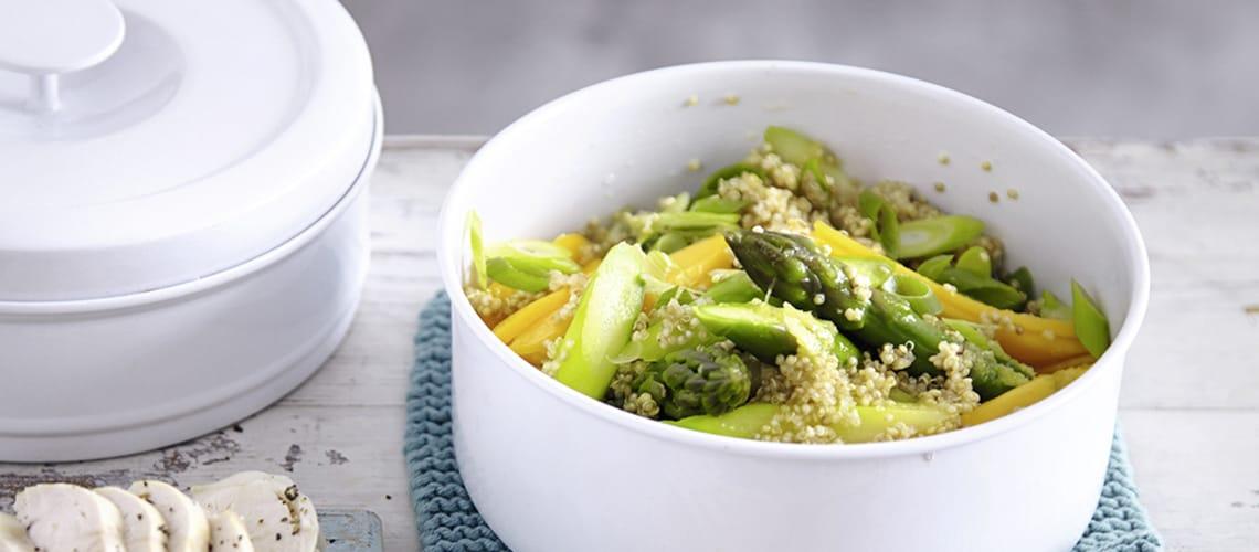 Quinoa-Salat mit Huhn