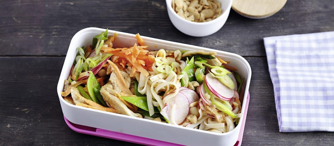 Thai-Nudelsalat