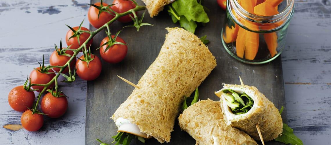 Geflügel-Sandwichrolle
