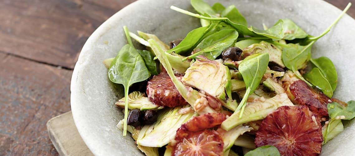 Artischocken-Fenchel-Salat