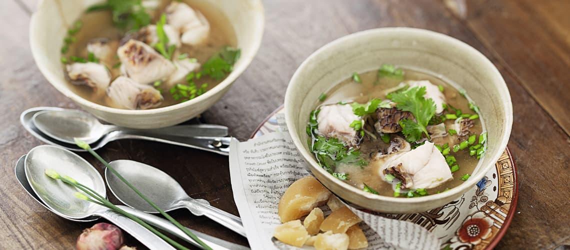 Fischsuppe mit Tamarinde