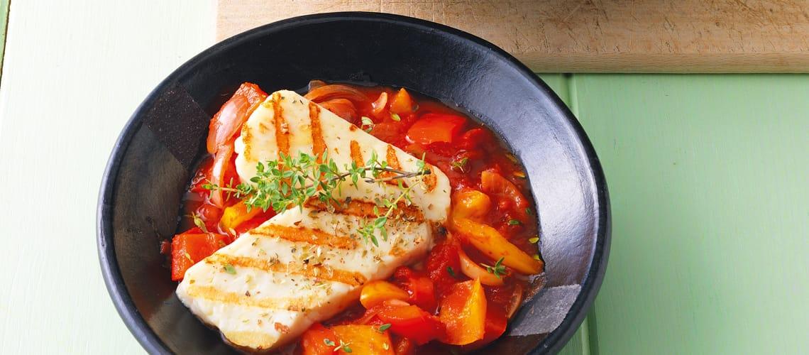 Bohnen-Wok mit Tofu