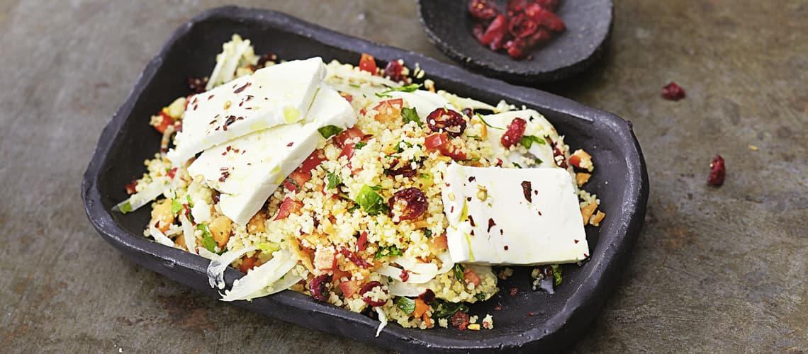 Couscous-Salat mit Fenchel