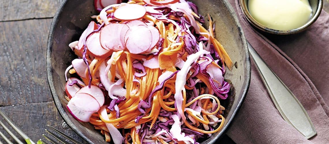 Coleslaw mit Radieschen