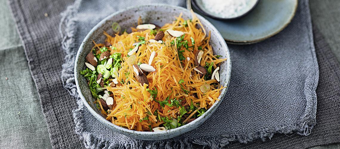 Möhren-Mandel-Salat