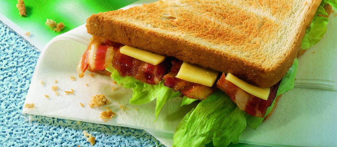 Herzhaftes Pfannen-Sandwich
