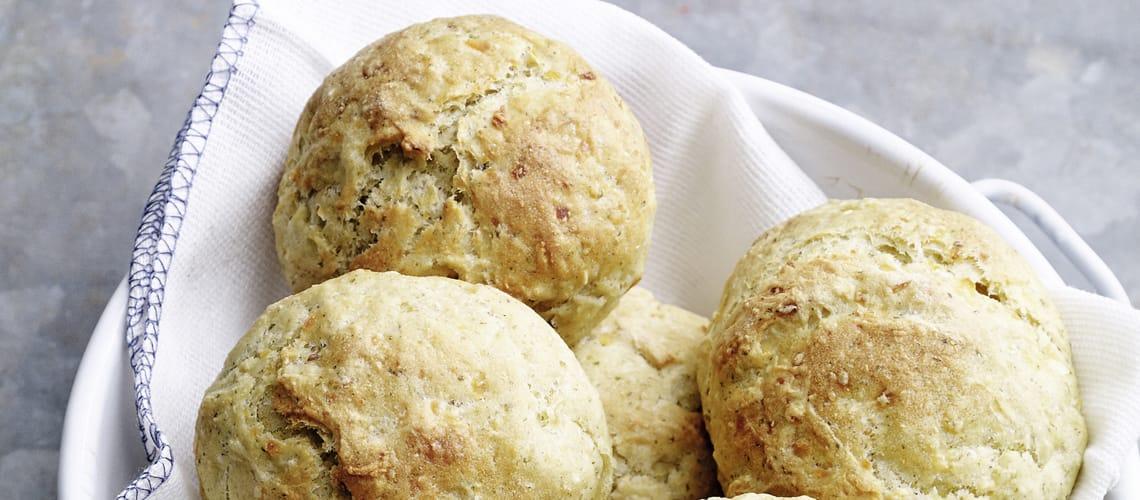Kartoffel-Kräuter-Brötchen