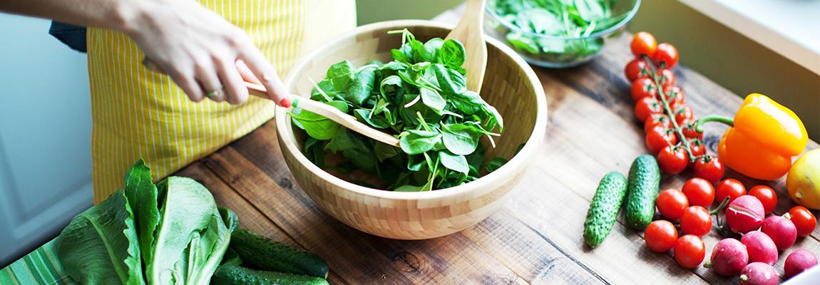 Gesunde Ernährung und Schuppenflechte