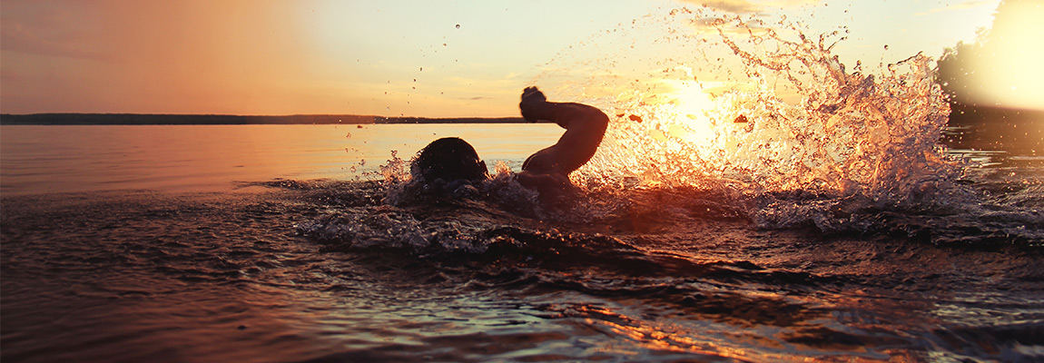 Schwimmen trotz Schuppenflechte